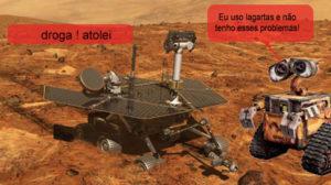 Se o rover Spirit tivesse 8 rodas como o Lunokhod!