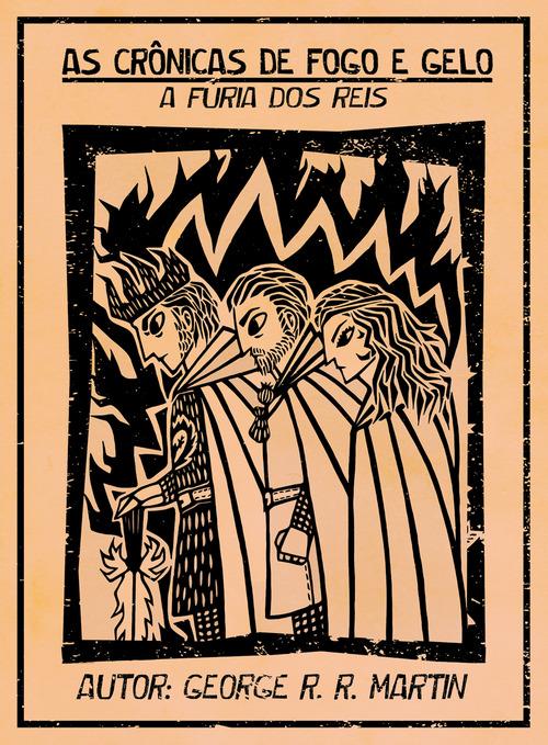 Cordel As Crônicas de fogo e gelo A furia dos reis