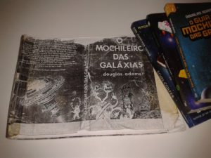 Mochileiro das galaxia, minha copia de 1999