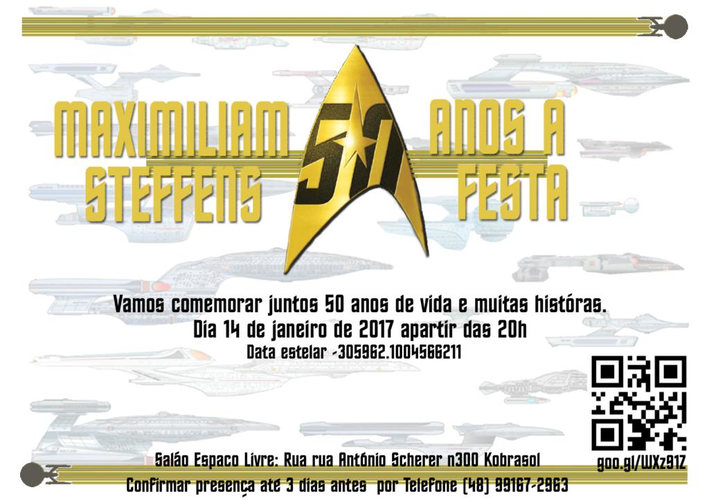 Comvite 50 anos de StarTrek